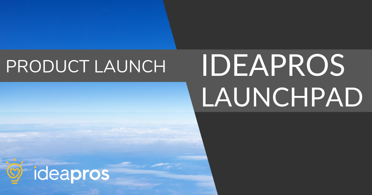 An image of IdeaPros Product Launch